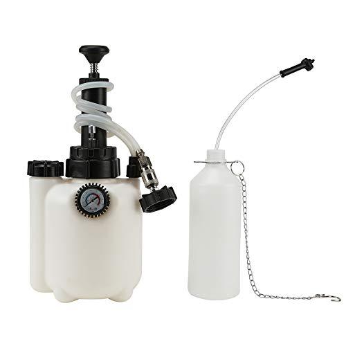UROK 3L Kit Freni Auto Estrattore Pompa Estrattori per Aspirazione Olio Pompa di Estrattore Spurgo Ricambio Liquido Freni per Auto Veicoli