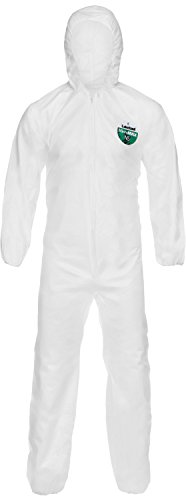 Lakeland Industries CTL428V-2X MicroMax NS Coverall, 2X-Large, White