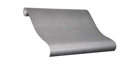 Tapete Silber - Colani Evolution - für Wohnzimmer, Schlafzimmer oder Küche - Made in Germany - 10,05m X 0,70m - Premium Vliestapete - 56341