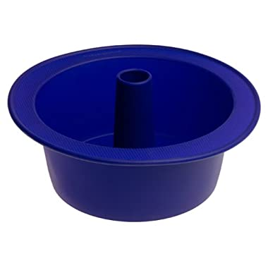 KitchenAid Silicone Tube Cake Pan, Blue