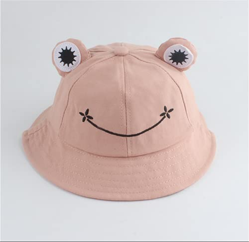 XXDD Sombrero De Pescador para Niños, Sombrero De Pescador De Rana Personalizado, Bonito Caricatura para Sombrillas, Actividades Al Aire Libre para Acampar