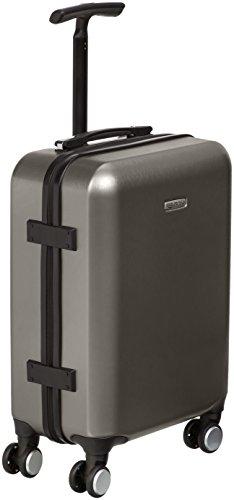 Amazon Basics Hardshell Spinner Suitcase with Built-In TSA Lock, 22.8-Inch, Graphite
