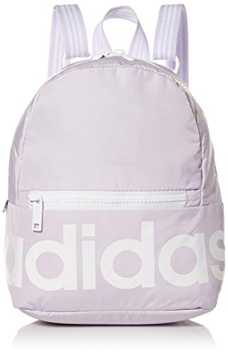 adidas Linear Mini Backpack, Purple Tint/White, ONE SIZE