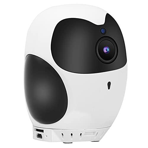 Cámara WiFi, Cámara De Vigilancia De Almacenamiento En La Nube Giratoria Silenciosa para Oficina para Seguridad En El Hogar