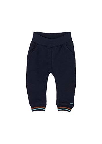 s.Oliver Unisex - Baby Jogginghose mit Umschlagbund Dark Blue 50/56.REG