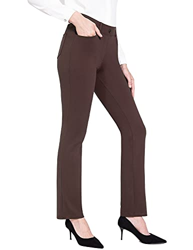 Top 10 best selling list for straight leg pants with flat shoes business casual ladies outfits