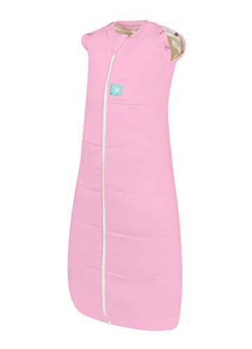 ergoCocoon Hybrid Swaddle Sleeping Bag: 2.5 tog. up to 12kgs (3-12 months. Pink)