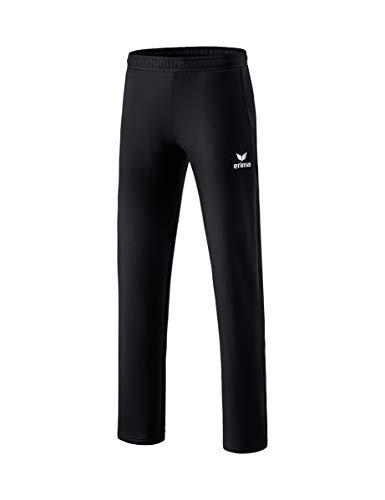ERIMA Erwachsenen Essential 5-C Sweatpant mit offenem Beinabschluss und stylischem 5-C Print