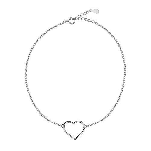SOFIA MILANI Damen Armband Armkette Herz Love Silber 30154