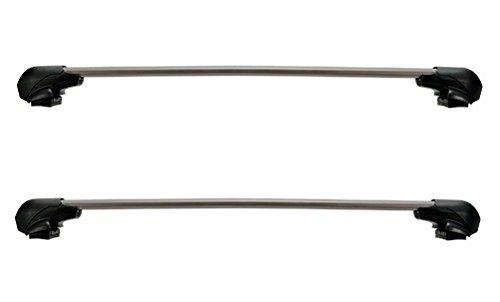 【車種別セット】 カーメイト ルーフキャリア inno フラッシュタイプ ステー(XS201)+前側バー(XB100)+後側...
