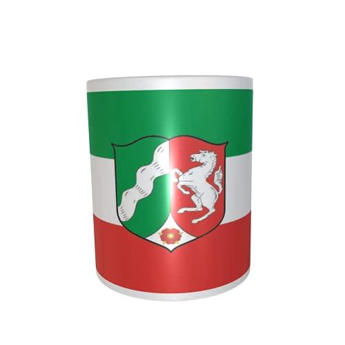 U24 Tasse Kaffeebecher Mug Cup Flagge Nordrhein-Westfalen NRW
