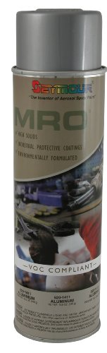 Seymour 620-1411 Industrial MRO High Solids Spray Paint, Aluminum (Mro Storeroom Best Practices)