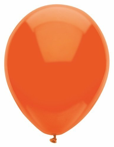 Bright Orange 12in Balloons 15ct by PIONEER BALLOON COMPANY TOY (English Manual)