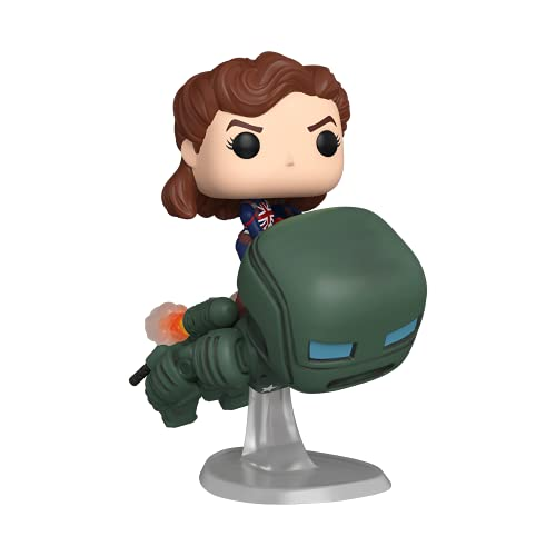 Funko Pop! Deluxe Marvel: What If? - Captain Carter Riding...
