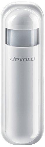 devolo Home Control Funk-Bewegungsmelder (Smart Home Infrarot Sensor, Helligkeits- & Temperatursensor, Z-Wave Hausautomation, Haussteuerung per iOS/Android App) weiß
