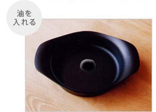 柳宗理日本製南部鉄器オイルパン22cm鍋IH対応鉄蓋・ハンドル付き