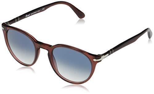 Persol Herren 0PO3152S Sonnenbrille, Rojo Transparente, 49