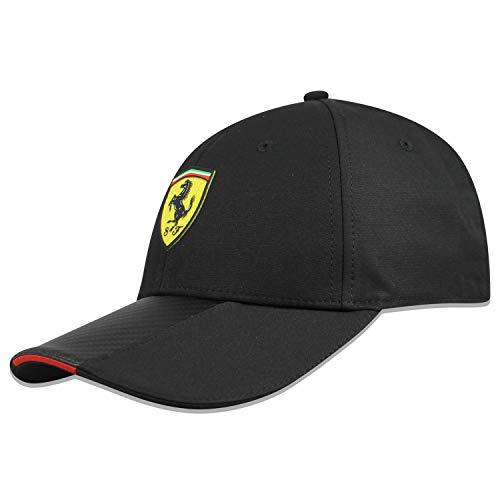 Marke Sports Merchandising B.V. Scuderia Ferrari F1 Black Carbon Hat