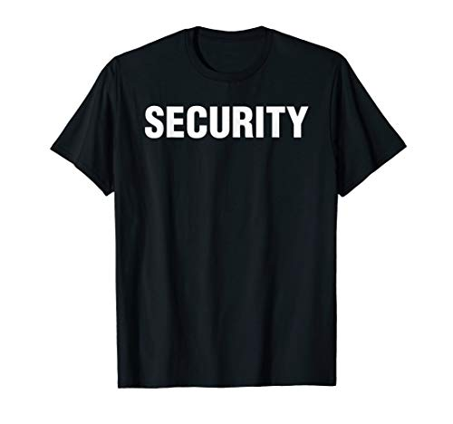 Security Guard Cool Club Stage Event Security Guard T-Shirt