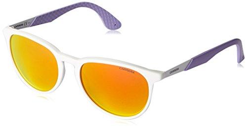 Carrera - Gafas de sol Redondas 5019/S, color WHT LILAC, talla 54 mm