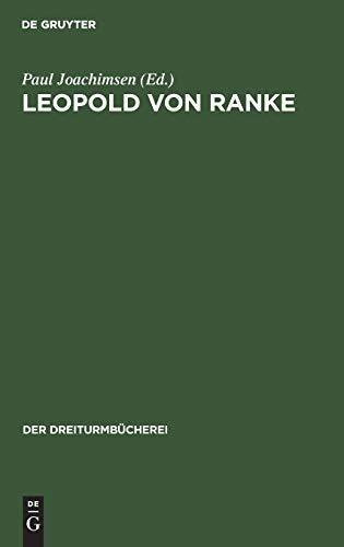 Leopold Von Ranke: Eine Auswahl Aus Seinen Schriften: 17