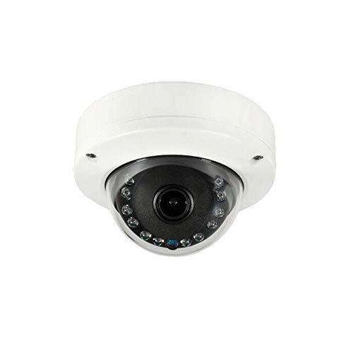WiTi Cámara Domo Interior AHD, cámara CCTV de vigilancia de Seguridad de Gran Angular de 2.8 mm, Caja de Metal sólido y transmisión coaxial de Salida BNC (5MP)