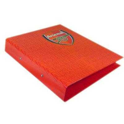 Klaar Steady Bed® Arsenal FC Voetbal Club A4 School Ring Binder Folder