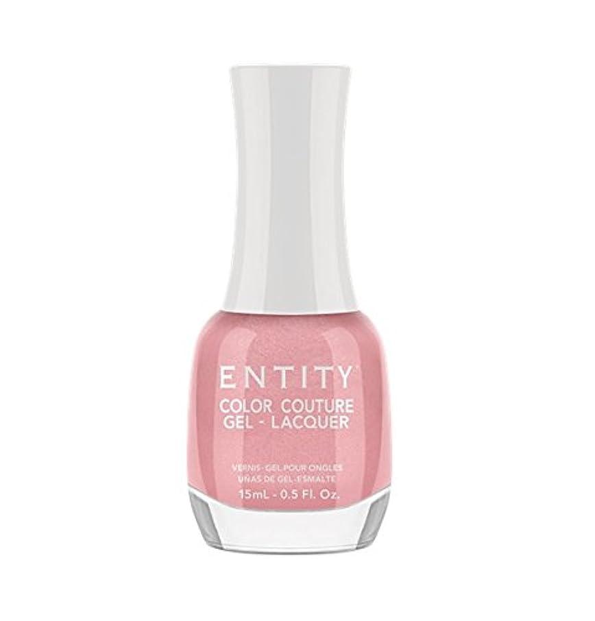 是正する世界の窓論文Entity Color Couture Gel-Lacquer - Blushing Bloomers - 15 ml/0.5 oz