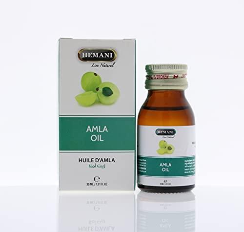 Extractos de ingredientes 100% puros y naturales esenciales de Hemani Amla aceite...