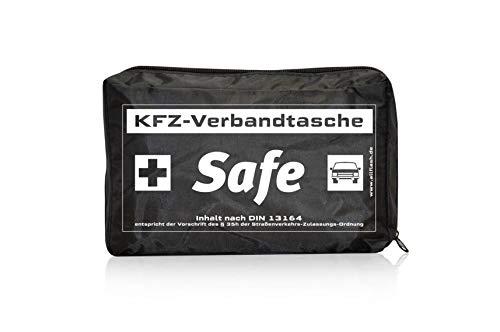 Allflash AL-0487 KFZ-Verbandstasche Safe, Schwarz