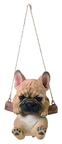 Vivid Arts RP-FRBD-F Rocking Pet Pals Goldene Französische Bulldogge für Haus oder Garten