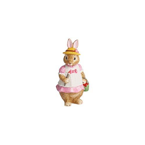Villeroy & Boch Bunny Tales Statuetta Piccola di Porcellana Anna, Multicolore