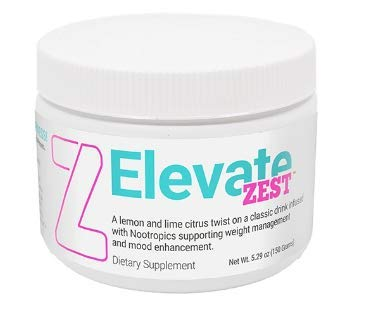 Elevate Zest 5.29 oz 30 Servings Lemonade Flavor