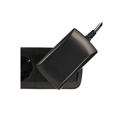 Preisvergleich Produktbild Hama Steckdosenleiste 6-fach mit Schalter (Mehrfachsteckdose zur Wandmontage,  mit erhöhtem Berührungsschutz,  1, 5m Kabel,  Schutzkontakt,  Steckdosen um 45 Grad gedreht) schwarz-grau
