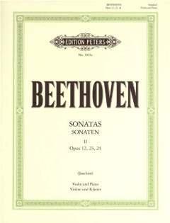 Sonaten 1 - gearrangeerd voor viool - piano [noten / Sheetmusic] Componist BEETHOVEN LUDWIG VAN