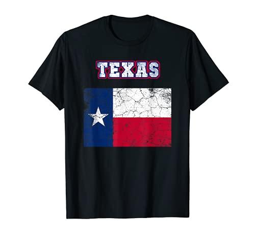 TEXAS The Lone Star State Estados Unidos América Camiseta