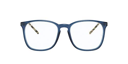 Ray-Ban 0rx5387 Gafas, TRANSPARENT BLUE, 52 Unisex