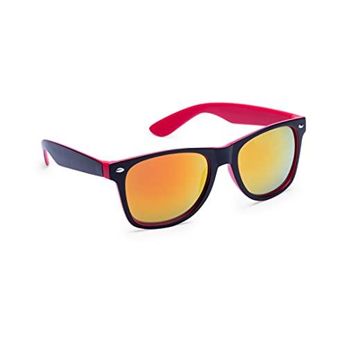 Gafas de sol casuales, fabricadas con montura bicolor, gafas con estilo unisex, gafas de sol para hombre y mujer, gafas estilo retro, clásico