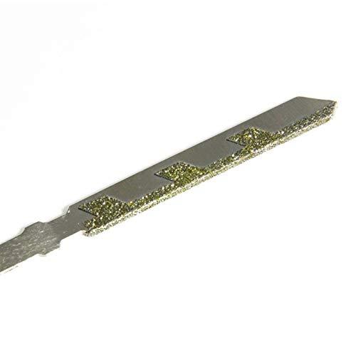 X-BAOFU, 1 unid 76mm 3'' pulgadas Jigsaw Blades Diamond Coated Grit 50 T Shank Cutter Mármol Piedra Granito Azulejos Cerámica Corte Jig Saw Accesorios