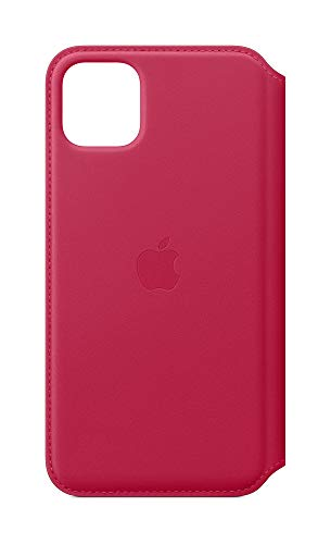 Apple Funda Leather Folio (para el iPhone 11 Pro MAX) - Frambuesa