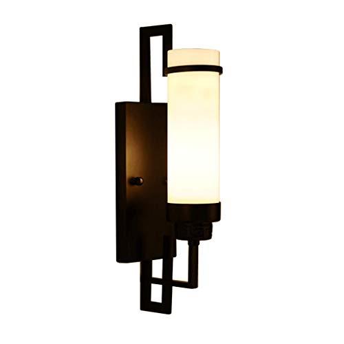 CAIMEI Luz de Pared Linternas de Pared Luz de Soporte E27 Dormitorio Sala de Estar Estudio Iluminación de Pasillo