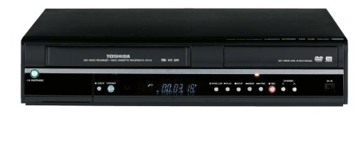 Lowest Price! Toshiba D-VR650 Super MultiDrive 1080i Up-Converting DVD Recorder and VCR with Built-I...
