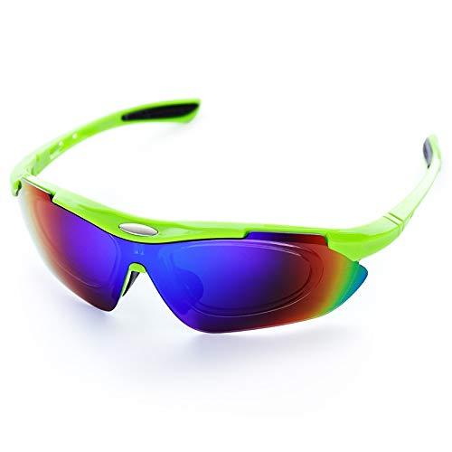 Liusujuan Cycling Glasses Men Women Outdoor Sports Mountain Bike Oculos Ciclismo Running Glasses for Men Women Cycling Sunglasses Bike Sunglasses Ski Sunglasses UV Protection (Color : B 1)