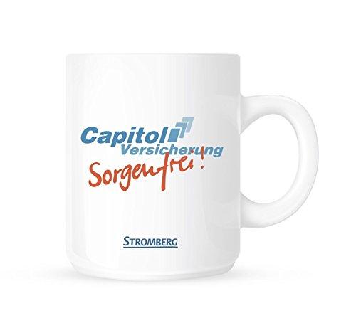 Tasse - Capitol Sorgenfreie (Weiss)