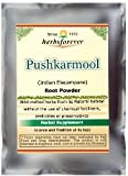 Pushkarmool Powder (Root) (Indian Elecampane) (Ayurvedic Respiratory Care Formulation) (Ayurvedic Herbs from Natural Habitat) 16 Oz, 454 GMS 2X Double Potency