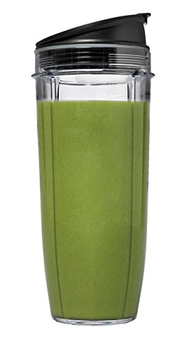 Nutri Ninja Pro Personal Blender with 900 Watt Base and Vitamin and Nutrient Extraction for Shakes and Smoothies with 18 and 24-Ounce Cups (BL456) (Renewed)