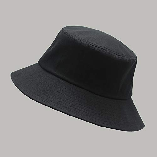 MGUOH Big Head Man grote zonnehoed vrouwen blank vishoed puur katoenen kap plus size emmer hoed