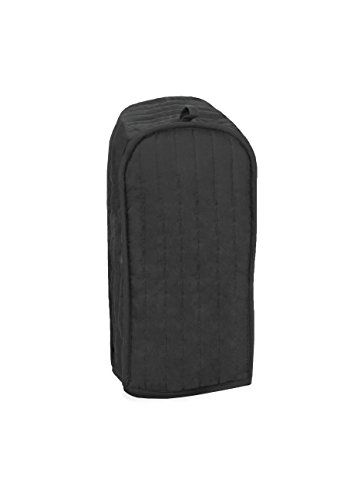 RITZ Polyester / Cotton Quilted Blender Appliance Cover, Dust and Fingerprint Protection, Machine Washable, Black