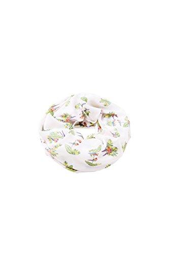 ESPRIT Accessoires Damen 048EA1Q001 Schal, Weiß (Off White 110), One Size (Herstellergröße: 1SIZE)