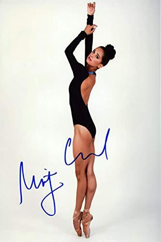 Misty Copeland Autograph Replica Super Print - Color Photo - Portrait - Unframed